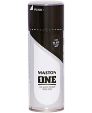 Akrüülvärv One Spray 400ml RAL 9005 matt must