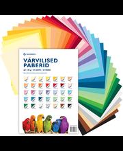 Värvilise paberi komplekt (80gr, 35 lehte, 35 värvi)