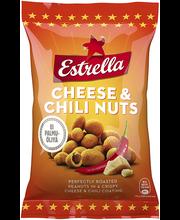 Estrella juustu- ja tšillimaitselised maapähklid 140 g