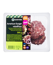 American burger veiselihast 300 g