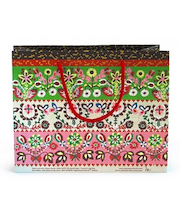 Kinkekott Muhu Sukk 28x22x10,5 cm, punane