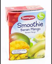 Semper smuuti banaani-mango 200 ml, alates 12-elukuust