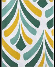 Voodipesukomplekt Deco 150x210/55x65 cm roheline 100% puuvill