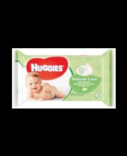 Huggies Natural Care niisked salvrätikud 56 tk