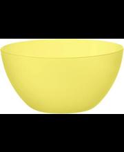 Kauss 0,75 l, kollane plast