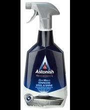 Astonish puhastusvahend roostevabadele pindadele 750 ml