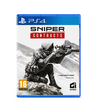 PS4 mäng Sniper Ghost Warrior Contracts