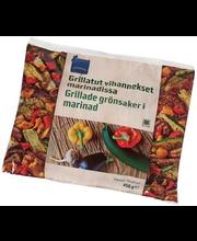 Grillitud juurviljad marinaadis, 450 g