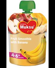 Milupa puuviljasmuuti banaaniga 80 g, alates 4-6 elukuust