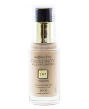 Jumestuskreem Facefinity 3-in-1 45 Warm Almond