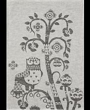 Köögirätik Taika 47 x 70 cm, hall, linane