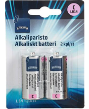 Patareid C 1,5V, 2 tk