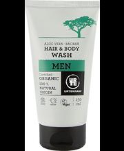 Urtekram men šampoon hair&body 150ml