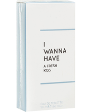 Tualettvesi I Wanna Have Fresh Kiss EDT 50 ml
