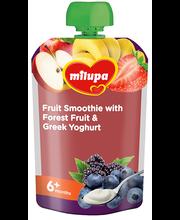 Milupa puuviljasmuuti mestamarjade ja kreeka jogurtiga 100 g,...