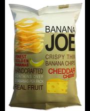 Banaanikrõpsud Cheddar juustuga, 50 g