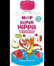 Hipp Super Hippis õuna-vaarikapüree granaatõuna ja acerola-ki...