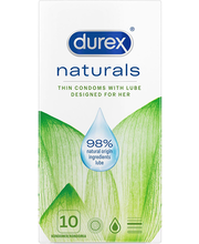 Kondoomid Durex naturals 10 tk