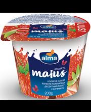 Maasikatega jogurtimaius, 200 g