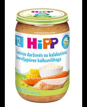 Hipp juurvilja-kalkunilihapüree 220 g, alates 12-elukuust