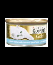 Täissööt kassidele merekala spinati-bešamellkastmes 85 g