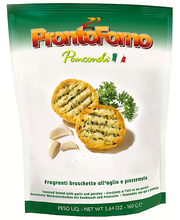 Prontoforno küüslaugu- ja petersellimaitselised röstsaiakesed...