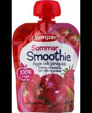 Semper õuna-maasika smuuti 90 g, alates 6-elukuust