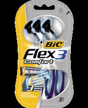 Ühekordsed raseerijad Flex3 Comfort 3 tk