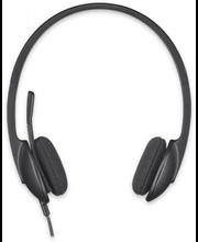 Kõrvaklapid mikrofoniga H340 USB