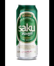 Saku Pilsner õlu 4,2% 500 ml