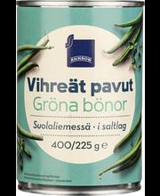 Rohelised oad soolvees 400/220 g