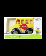 koolibuss vikingtoys, 21 cm, mänguasi