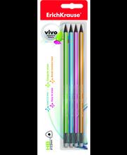 Harilik pliiats 4HB kolmetahuline