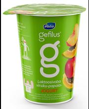 Virsiku-papaia jogurt, 380 g