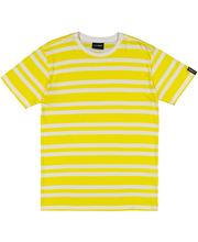 M t-särk la-keus kollane triip xl