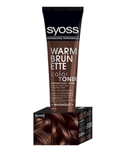 Juuksevärv syoss color toner soe brünett 150ml