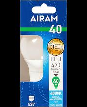 LED-lamp 5,5W E27 4000K 470LM
