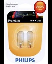 Autolamp W5W Premium 12V 5W 2 tk