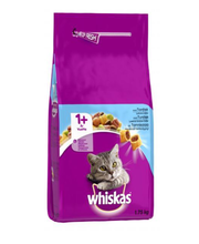 Whiskas 1+ täissööt kassidele tuunikalaga, 1,75 kg