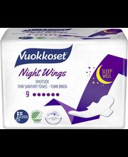 Vuokkoset Night hügieeniside 9 tk