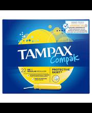 Tampax Compak Regular tampoonid 22 tk