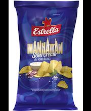 Estrella Manhattan hapukoore- ja sibulamaitselised kartulikrõpsud 275 g