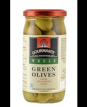 Rohelised oliivid kividega 360/210 g