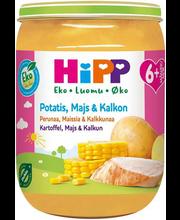 HIPP PÜREE KARTUL-MAIS-KALKUN 190G 6K