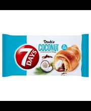 7 days Double! Croissant kakao ja kookose täidisega 60 g