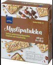Müslibatoonid pähkli-šokolaadi 150 g