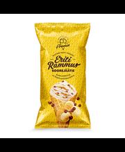Eriti Rammus vanilli koorejäätis banaanimoosi-šokolaadipallid...