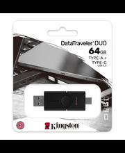 Mälupulk Data Traveler Duo USB 3.2 + C 64GB