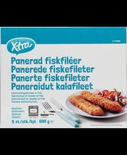 Paneeritud kalafilee, 600 g