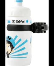 Laste joogipudel + hoidik Zefal, valge-sinine